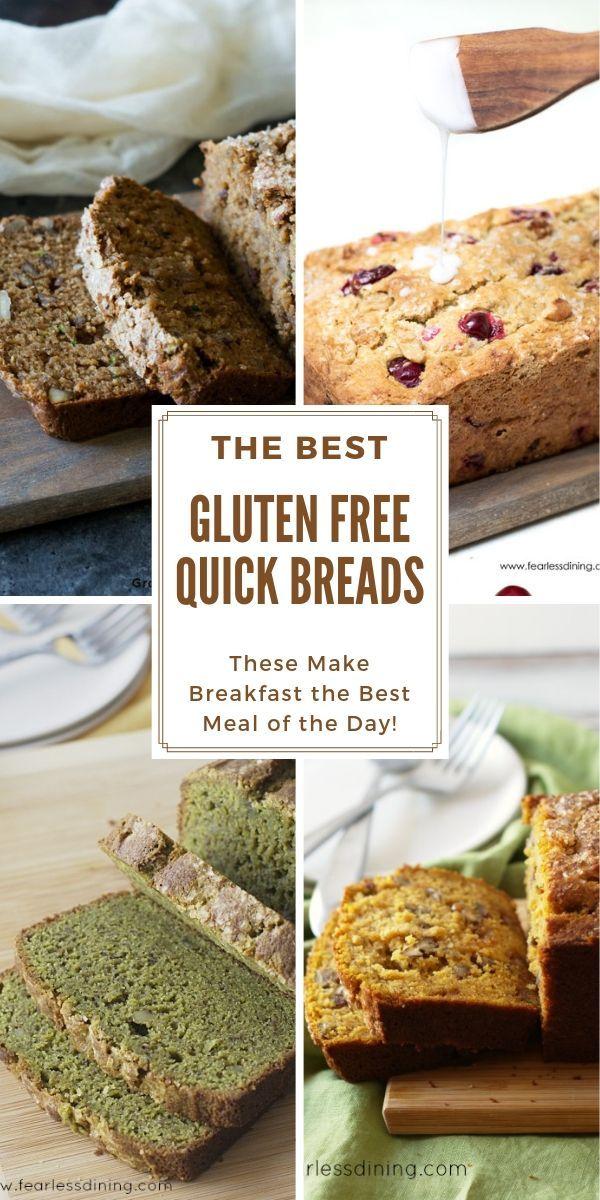 The Best Gluten Free Quick Breads Gluten Free Quick Bread Quick Bread Recipes Gluten Free Quick Bread Recipes