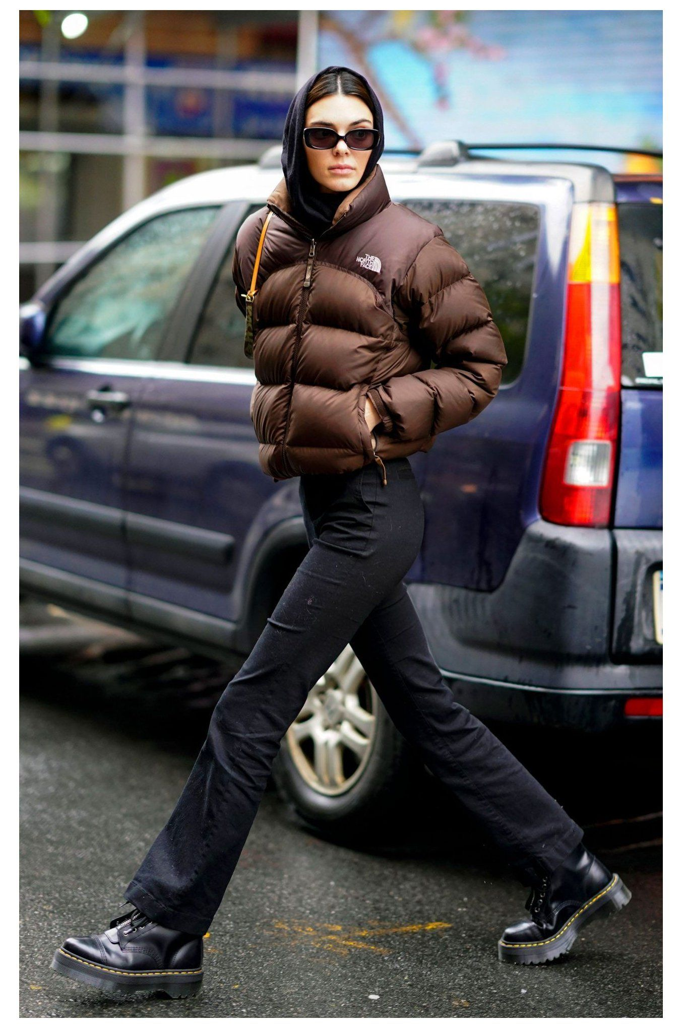 Kendall Jenner Keeps Wearing This North Face Puffer Coat Down Jacket Downjacket K Kendall Jenner Outfits Casual Winter Fashion Outfits Fashion Inspo Outfits [ 2040 x 1353 Pixel ]