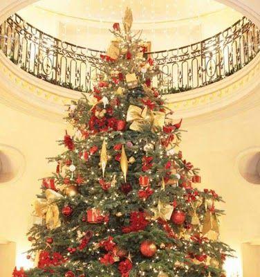 hotel lobby christmas trees | DECORACIÓN DE HOTELES EN NAVIDAD ...