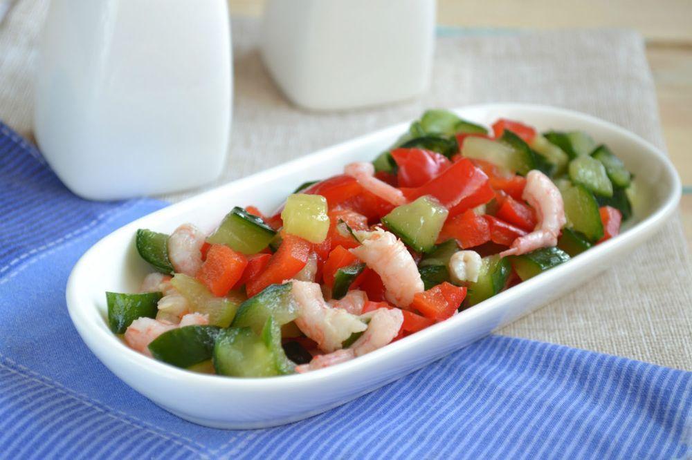 Низкокалорийные постные салаты рецепты с фото