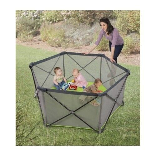 Portable Toddler Playpen Play Yard Baby Safety Travel Playard Pet Outdoor Summer Baby Play Yard Baby Playpen Portable Play Yard