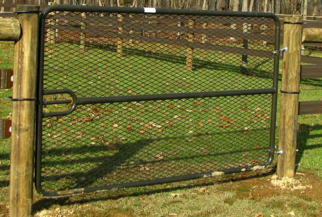 Expanded Metal Gates Barns Stables Yards Arenas