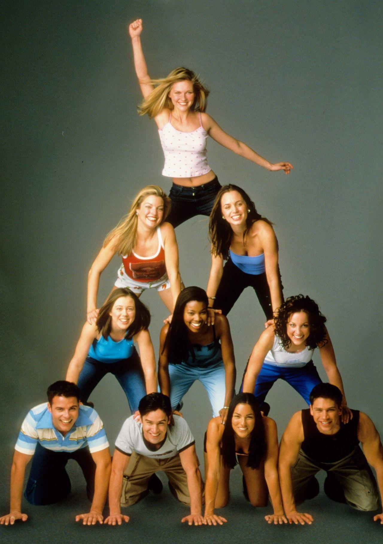 cast of bring it on 2000 tv film pinterest