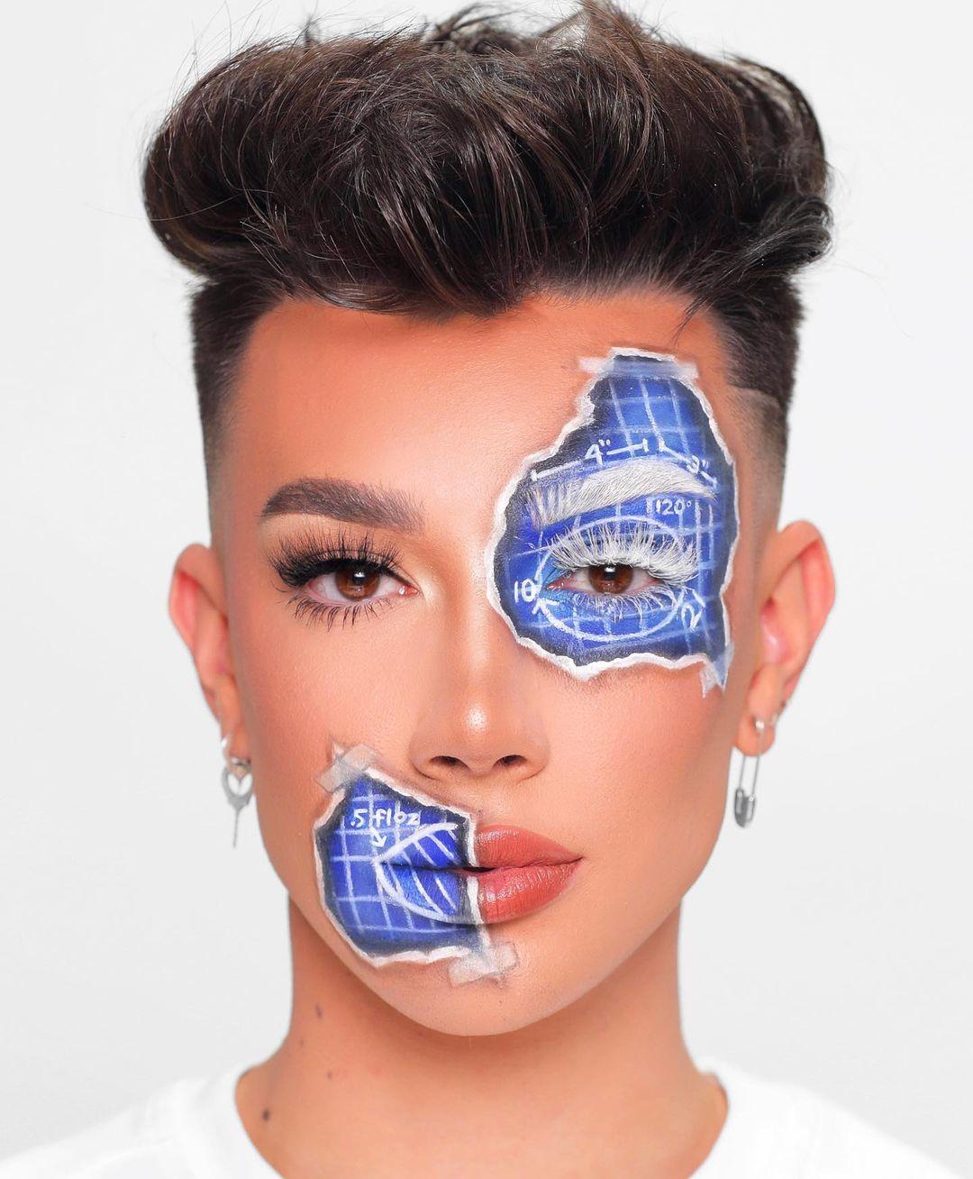 James Charles S Instagram Profile Post Work In Progress Recreated This Look From Brimonetxo James Charles Creative Makeup Looks Amazing Halloween Makeup