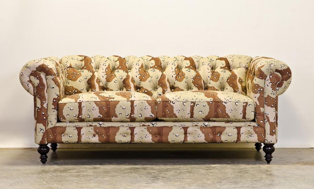 Chesterfield Sofa Camouflage Chesterfield Couch By Cococo Home