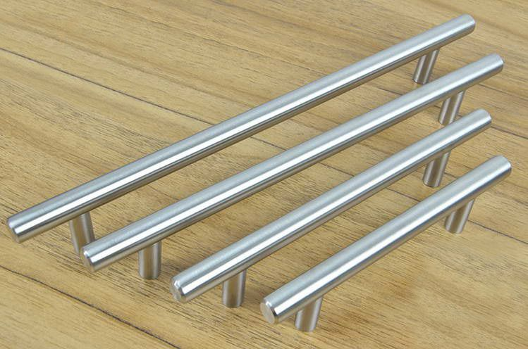 Pin On For The Home Stainless steel handles for kitchen cabinets
