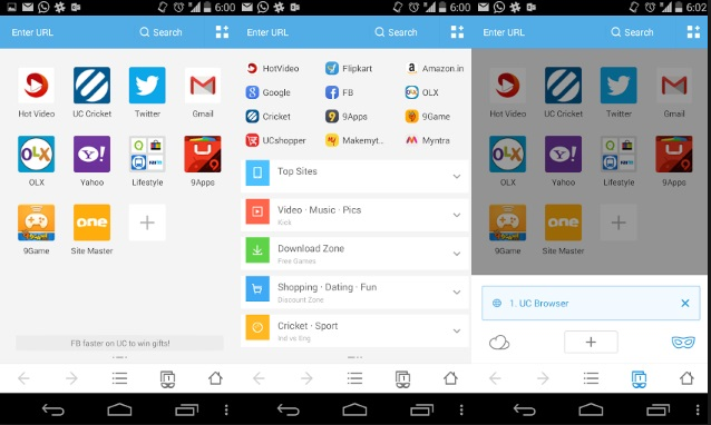 uc Browser new version App download for Android Apk UC