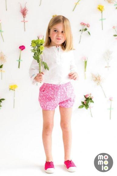 MOMOLO | moda infantil |  Camisas Reine et Roi, Pantalones cortos / Shorts Reine et Roi, Deportivas / Zapatillas Reine et Roi, niña, 20160302093604