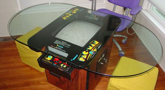 pacman dining table | arcade room