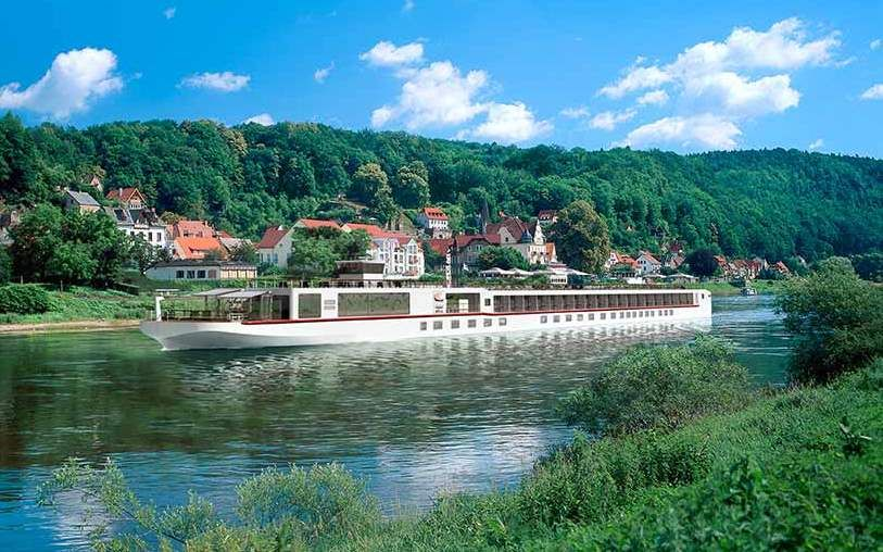 The River Elbe Going Through Magdeburg Germany I Used To Swim In This River Ccccooollldd Water Viking Cruises Rivers Viking River River Cruises