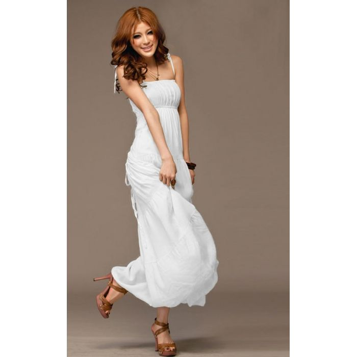 gettinfitt.com long white sundress (30) #sundresses | Dresses ...
