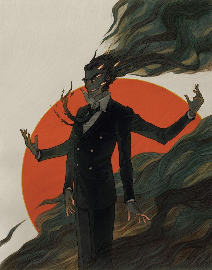 Some creepy artworks - Imgur | Character art, Fantasy art, Character design