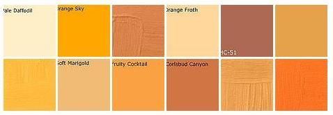 Orange Paint Designers Favorite Colors By