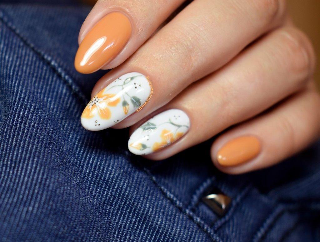 Jesienne Wzory Na Paznokcie Jesienne Paznokcie Autumn Nail Art