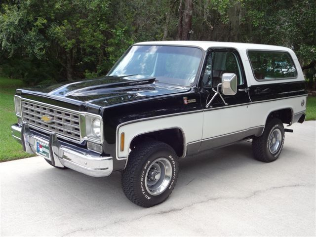 1976 Chevrolet Blazer 76 Chevy For Sale Hemmings Motor News