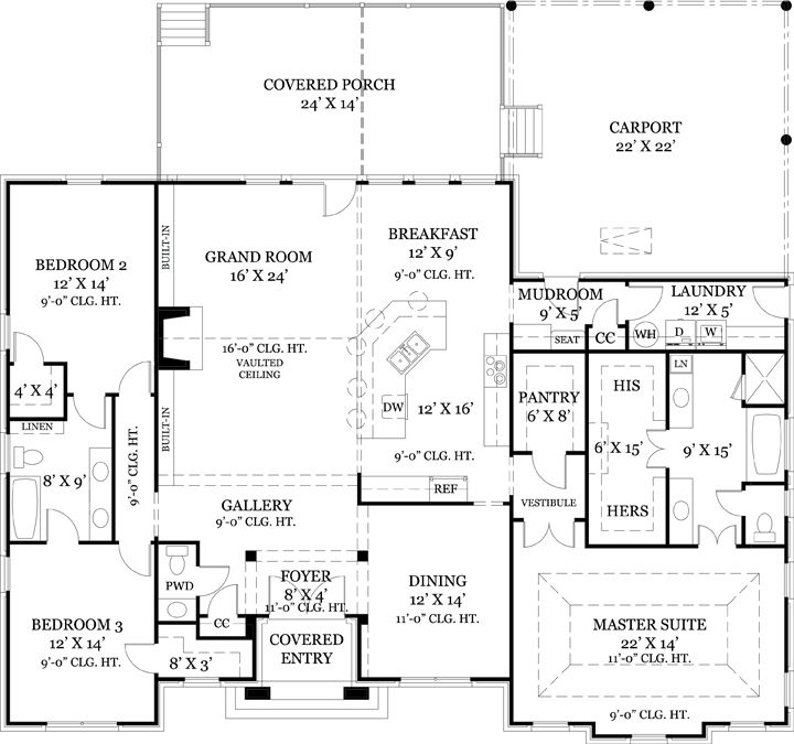 First floor plan image of old wesley house plan i like Old ranch house plans