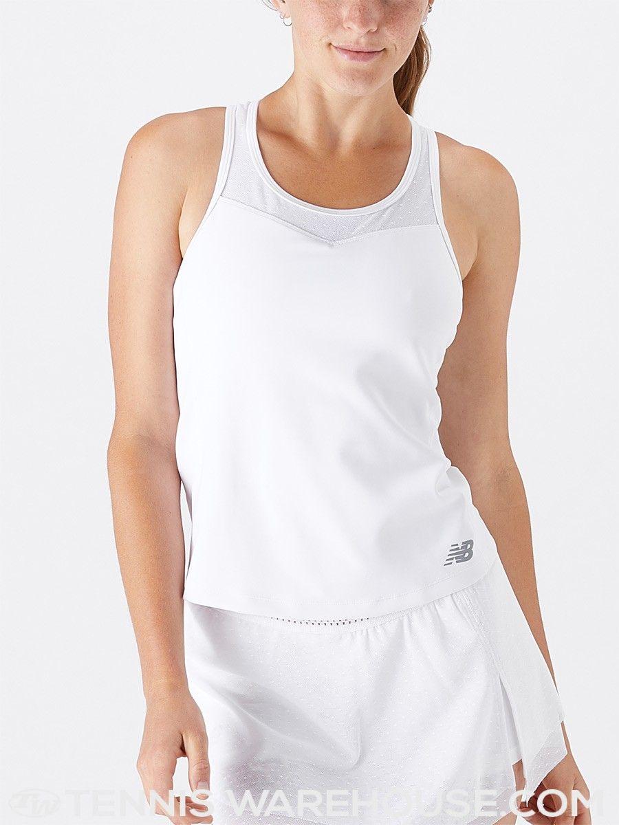 f9ac446b37ee4 New Balance Women's Summer Tournament Tank Tennis Wear, Tennis Warehouse, New  Balance Women,
