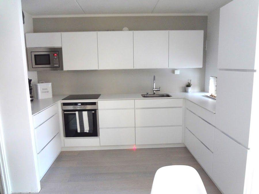 Inspired by love keittiön muutos kvik mano hus indretning in