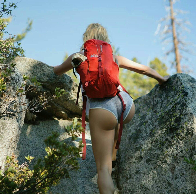 Sexy girl hike 14