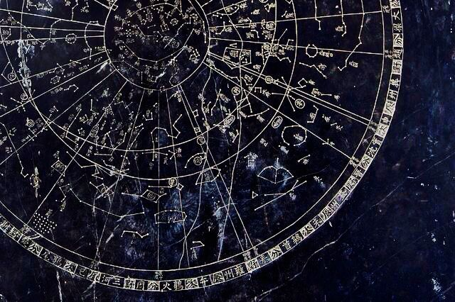 Probably sure that there is this stars map on the ceiling in the dorms in the Ravenclaw Tower. #astrologyaesthetic