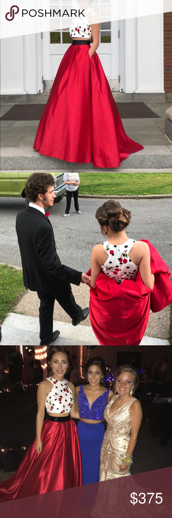 Sherri hill cherry prom dress cherries dress prom and prom