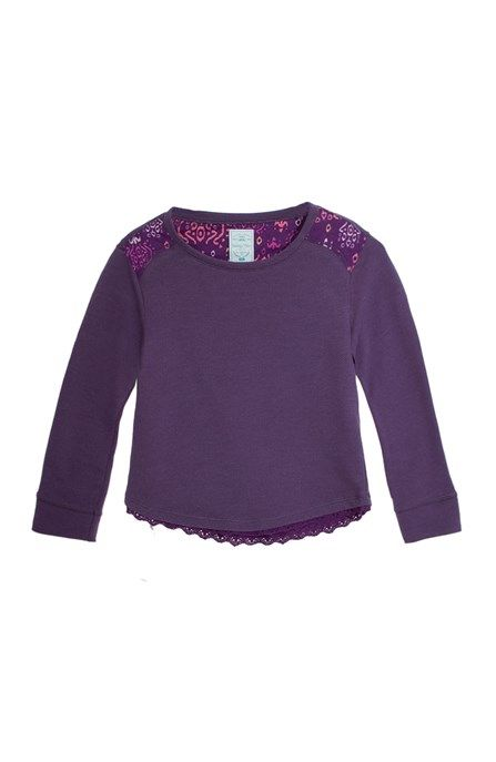 Camiseta para niña manga larga en tejido de punto.Compra en la tienda On Line de Off Corss - OFFCORSS