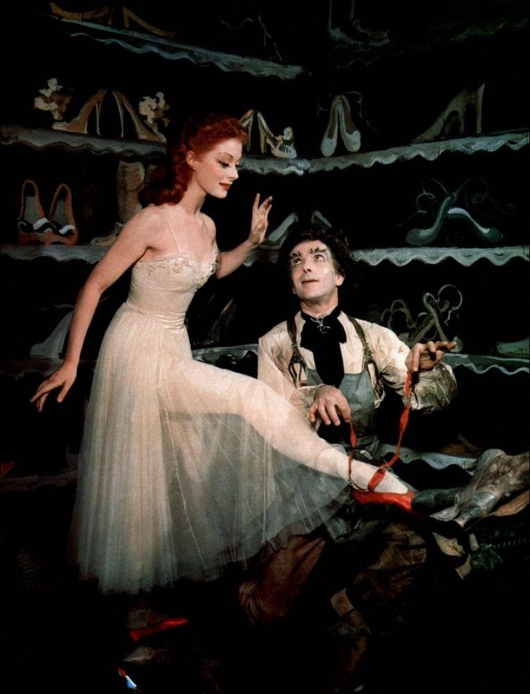 Opera De Paris Red Pointe Shoes