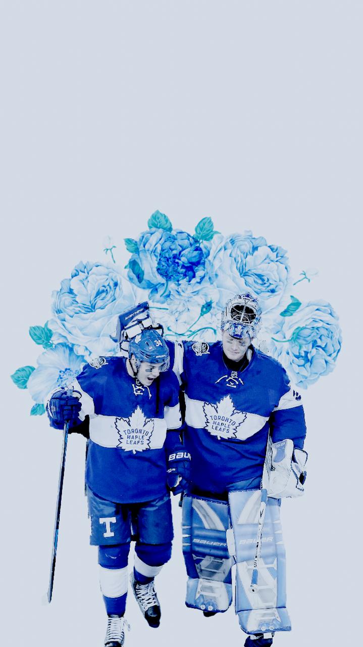 Auston Matthews \\ Frederik Andersen Toronto maple leafs
