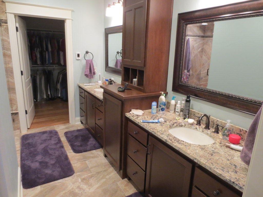 nice large bathroom vanity