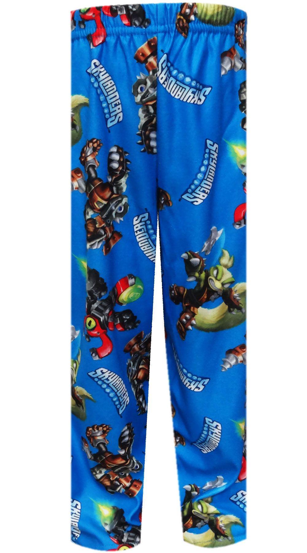b913b71e3 WebUndies.com Skylanders Swap Force Blue Pajama Pants