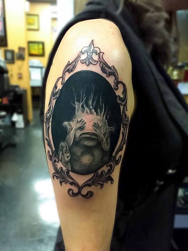 Done by resident artist hugh fowlerwe are a tattoo shop