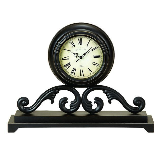 Infinity Table And Mantle Accent Clock Infinity Table Clock