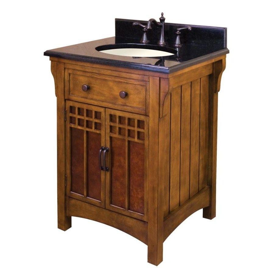 Craftsman Style Bathroom Cabinets