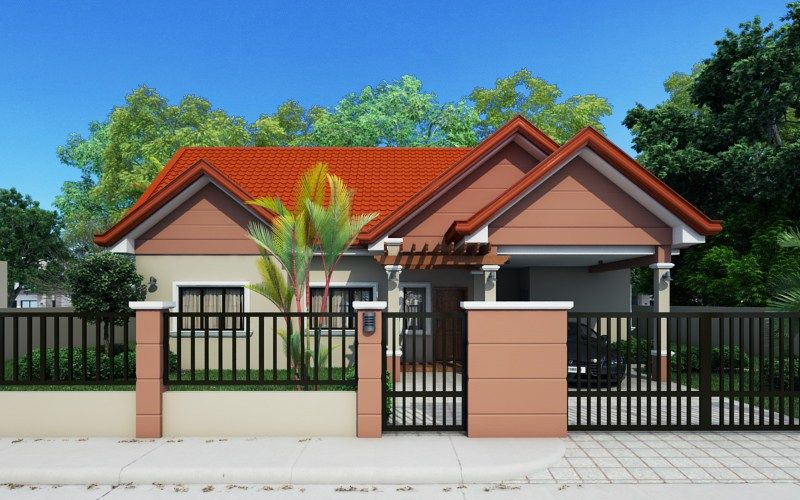 Small House Designs Series Shd 2014009 Pinoy Eplans House Design Pictures House Front Design Front View Of House