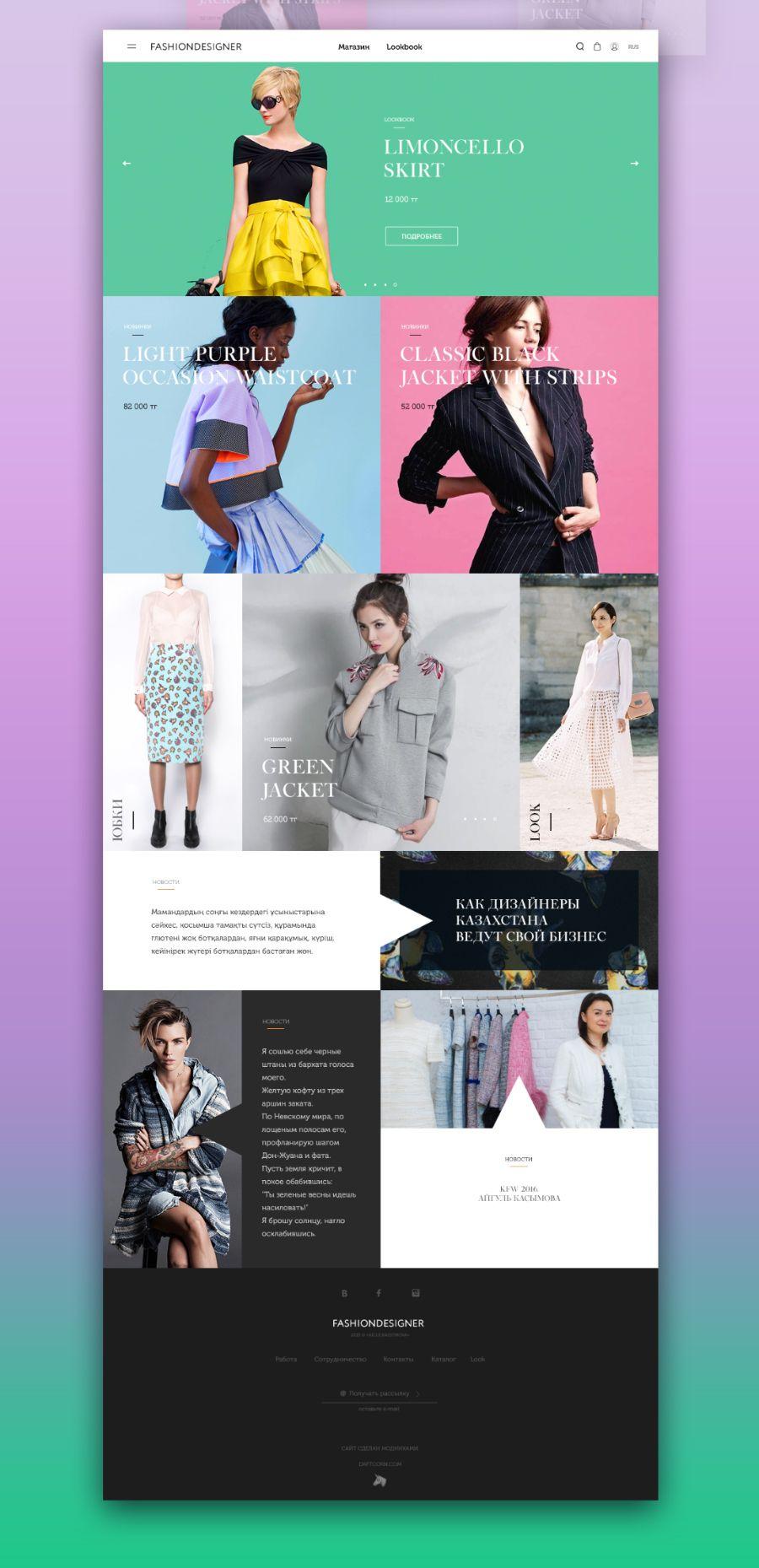 Fashion Shop Free PSD Template | Pinterest | Psd templates, Template ...