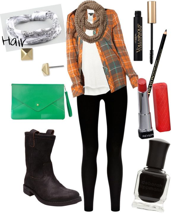 """""""Open Plaid"""" by mlc04536 on Polyvore"""