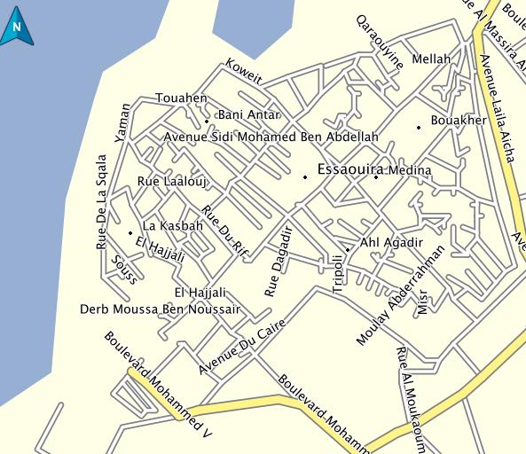 Detailed Terrain Map of Bali
