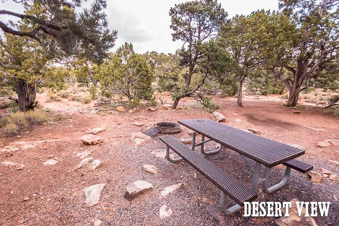 Desert View Campground Is Best First Come First Serve