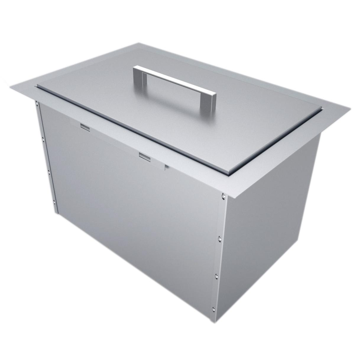 Sunstone Dual Mount 14 Inch Ice Bin With Cover B Ic14 Ice