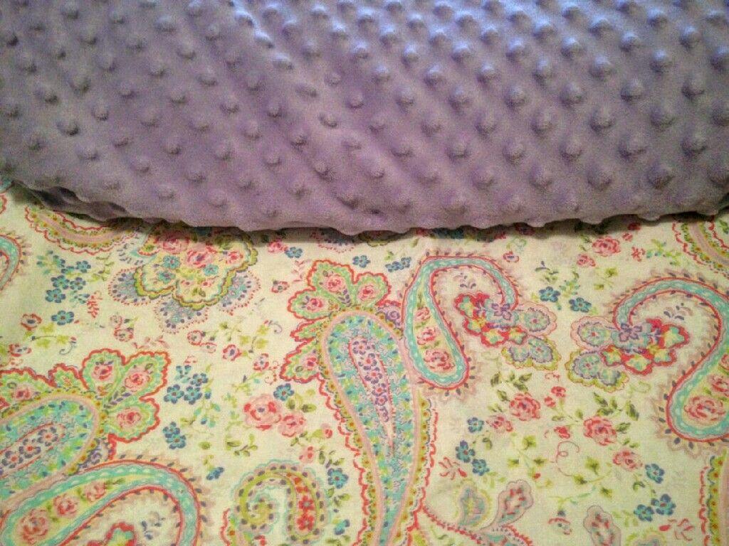 Mackenzie's blanket fabric
