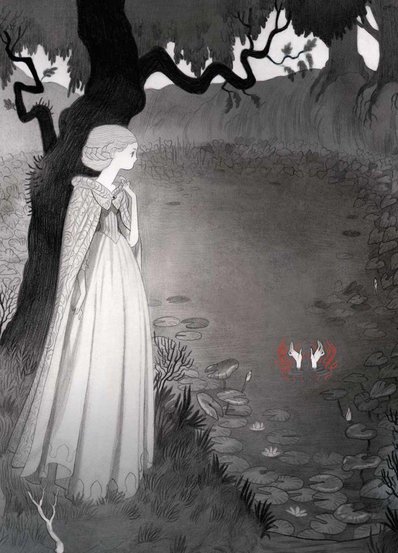 """Isabella Mazzanti' Illustrations """"carmilla"""" - Book"""