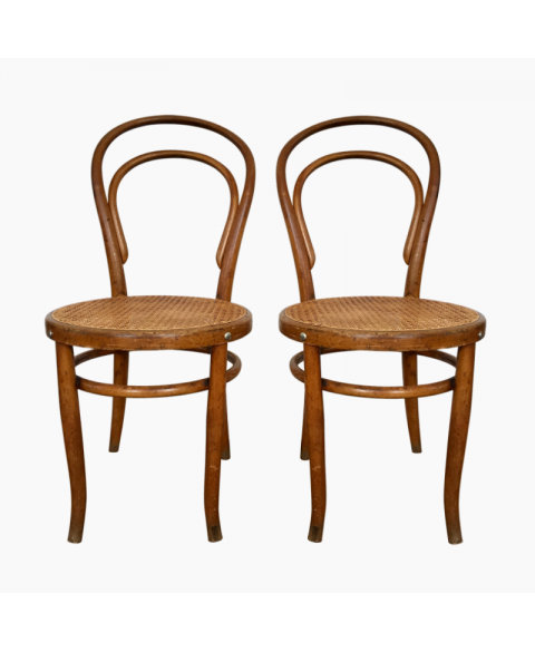 Chaises Bistrot Fischel Cannees Anciennes Chaise Bistrot Chaise Cannage