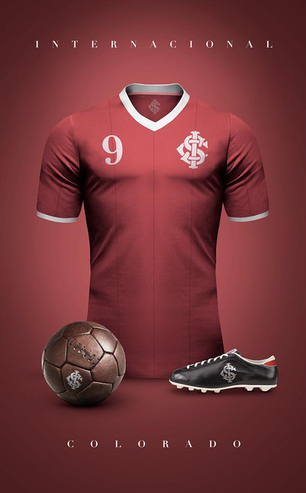 63351e8e3e Designer lança camisetas retrôs de principais times do mundo.  28452eed34e3ef1751f70acdbd679f3f Camisas Retro Futebol ...