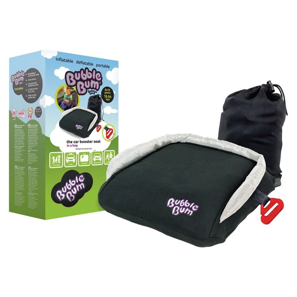 176722ad0edf0 BubbleBum Inflatable Car Booster Seat - Black