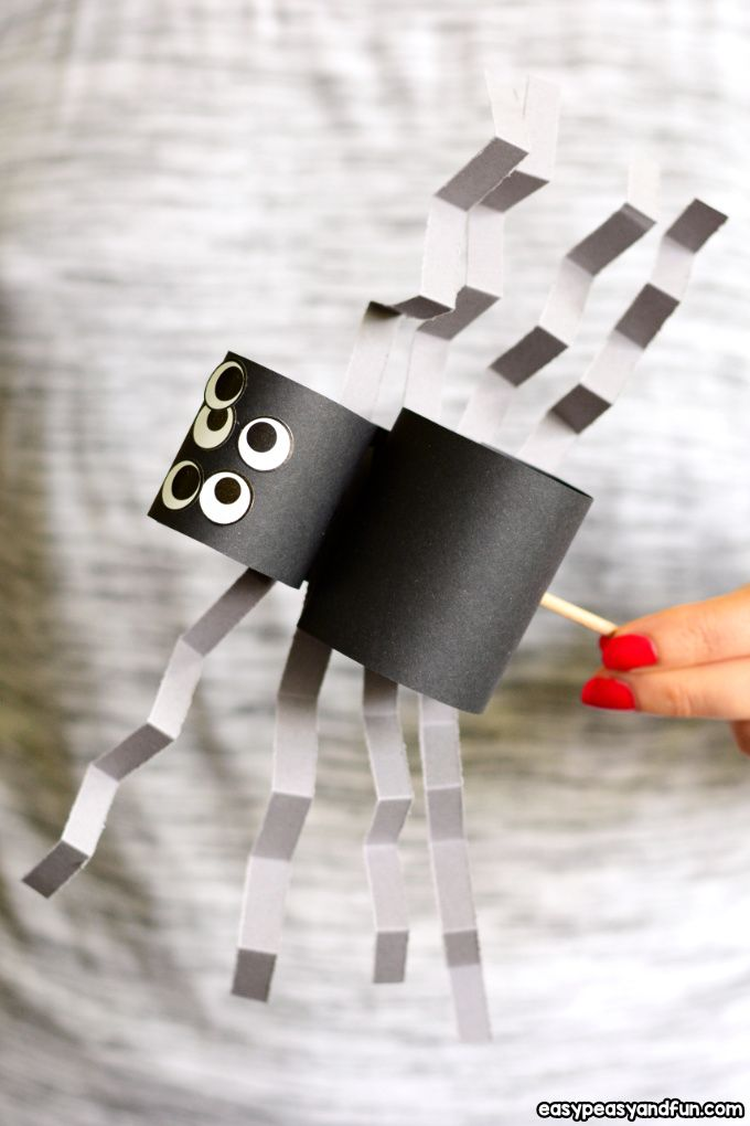 Simple Spider Craft Must Do Crafts And Activities For Kids