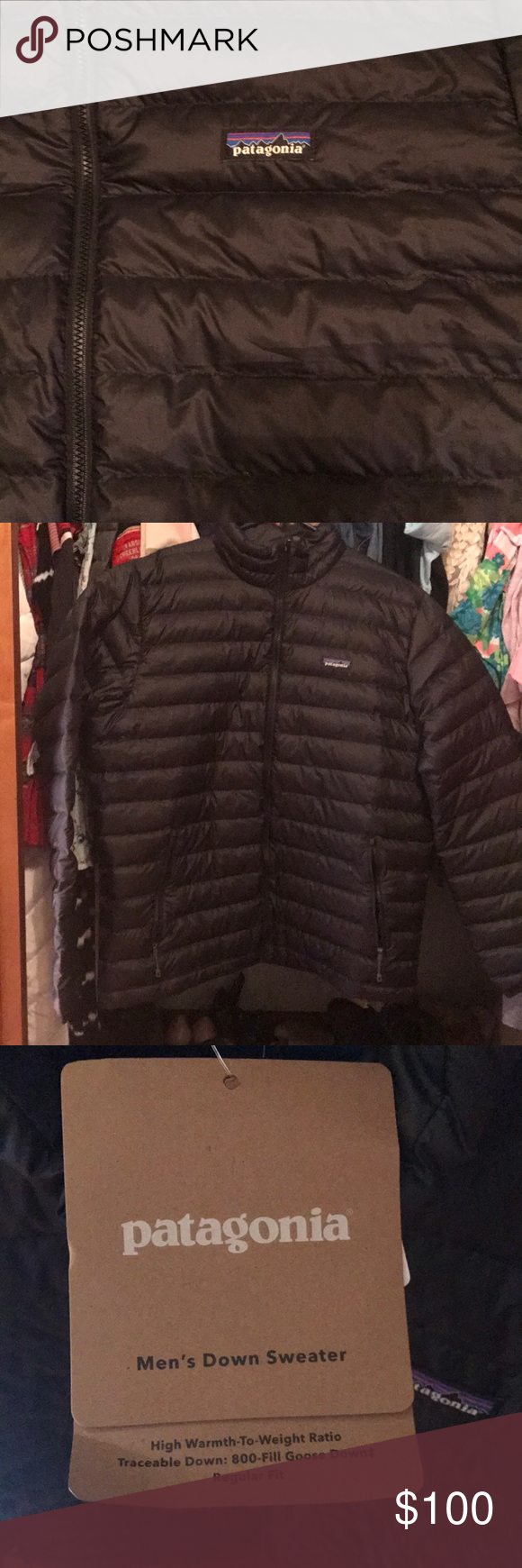 Men's XL Patagonia Down Filled Puffer Jacket Patagonia