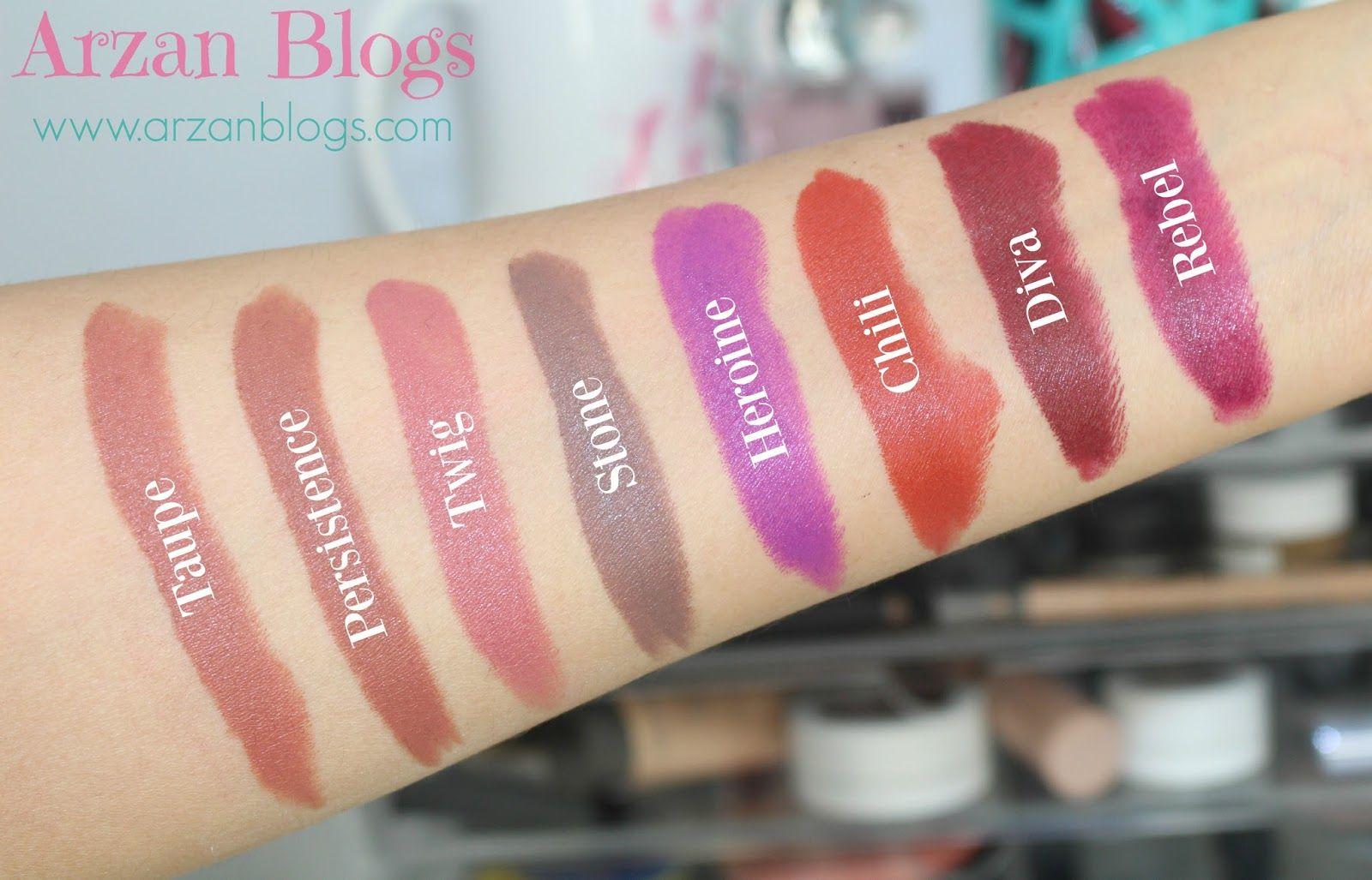 Beauty: MAC Fall Lipsticks, Lip Pencils & Lip Combinations