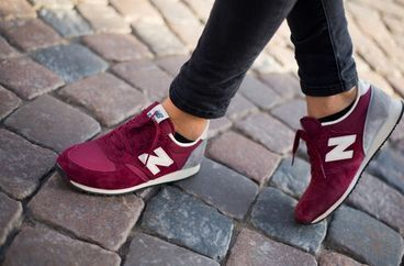 new balance 574 burgundy damskie