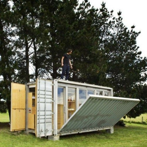 PORT-A-BACH SHIPPING CONTAINER HOME - DWELL BOXES