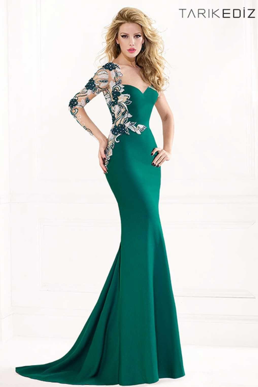 Tarik Ediz 92441 - Elegant And Modern Evening Dress | PROM♥{Wedding ...